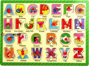 học bảng chữ cái tiếng anh