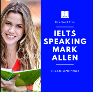 Sách Ielts Speaking Mark Allen
