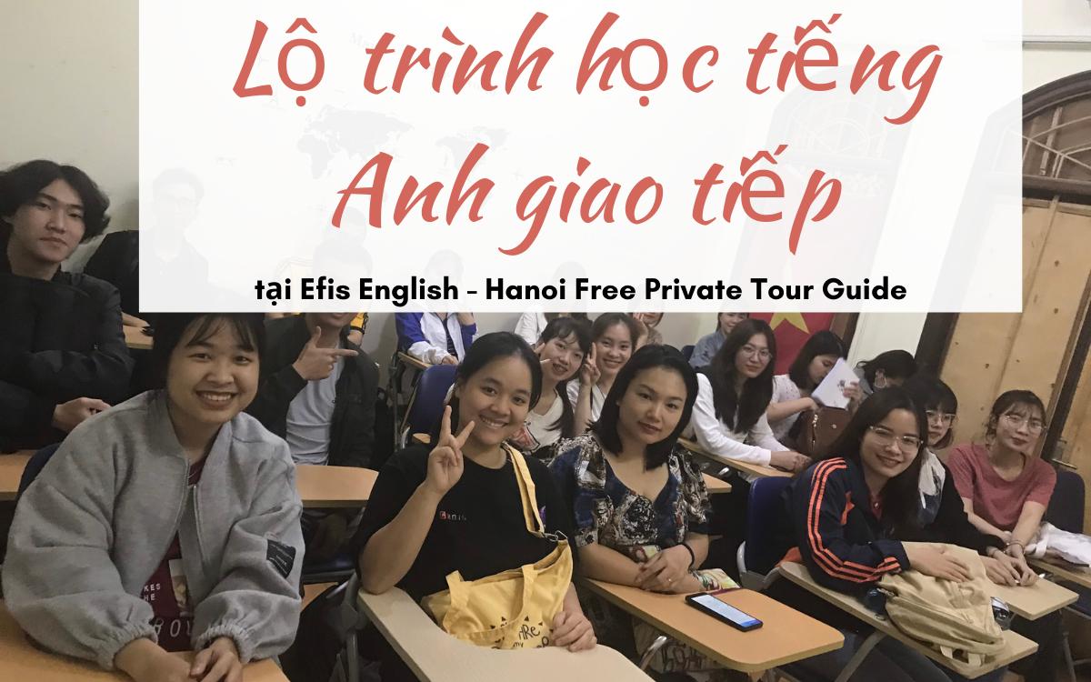 Lộ trình học tiếng Anh giao tiếp tại Efis English