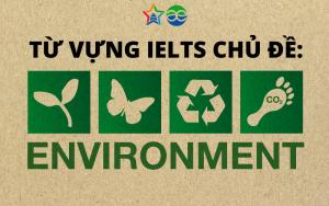 từ vựng ielts chủ đề environment efis english