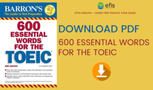 Sách từ vựng TOEIC | 600 essential words for the TOEIC