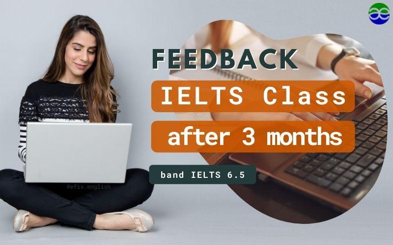 review lớp ielts101 sau 3 tháng
